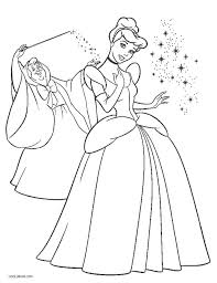 Printable Cinderella Coloring Pages Free Printable Coloring Pages