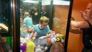 Stuffed Animal Vending Machine Interesting Give Me A Toy Florida Boy Gets Trapped In Vending Machine WJLA