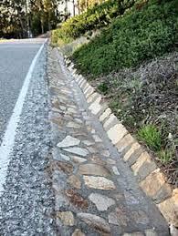 drainage ditch roadside storm drain ditch parking strip landscape design