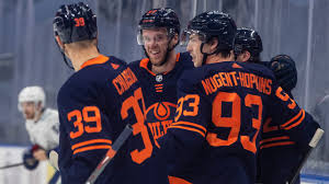Oilers gaming just went live! Mcdavid Notches Hat Trick As Oilers Overpower Canucks