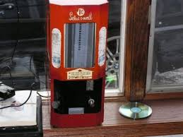 Select O Vend Candy Machine Adorable Acknak Selectovend Chiclet Mini Boxes Too Big
