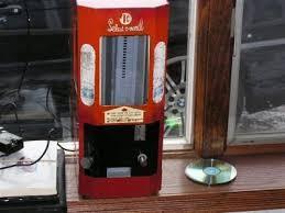 Select O Vend Candy Machine Adorable Acknak Selectovend Chiclet Mini Boxes Too Big