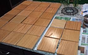 staining scrabble tiles