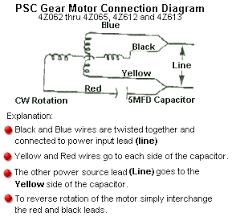Dayton Motor Capacitor Chart Dayton Model 4z062 Gear Motor 14 Rpm 1 60 Hp 115 Volts 60 50hz