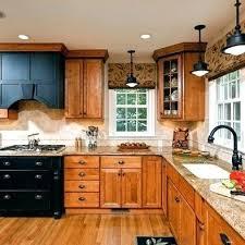 oak cabinets with dark countertops oak cabinets oak cabinets with dark quartz countertops