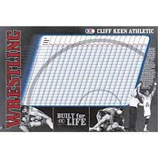 Cliff Keen Size Chart Amazon Com Cliff Keen Wrestling Weight Chart One Color