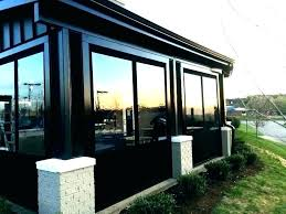 patios ideas patio enclosure kits walls only enclosed cost estimate removable patio enclosures removable patio screen