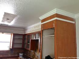 Molding On Top Of Kitchen Cabis Kitchen Ethosnw Add Molding To Walls