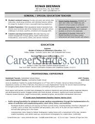 Teacher Resume Samples Examples Resume For Teacher Resume Samples