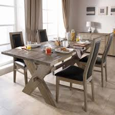 contemporary rustic furniture. Marvelous Dining Room Using Modern Rustic Wooden Table And Chair Contemporary Furniture I