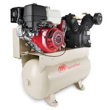 gas air compressor. 16hp e-start truck mount air compressor gas