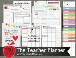 Student Daily Planner With Subjects 10 Awesome Planners For Teachers Erin Condren Lesson Plans Etc
