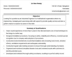 Resume Objective Lines Free Doc Engineer Resume Objective Download