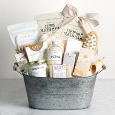 image of a spa gift basket for mother s day