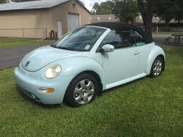 Light Blue Beetle For Sale 2004 Volkswagen Beetle For Sale Classiccars Com Cc 1024474