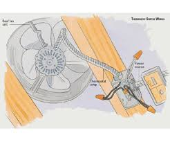 installing a roof fan how to install a fan or heater home thermostat switch wiring enlarge image