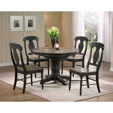 Paula Deen Home 5 Piece Round Pedestal Dining Table Set - Tobacco - with  Paula Chairs | Hayneedle