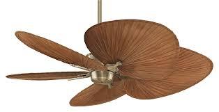 leaf ceiling fan. Wood Palm Leaf Ceiling Fan C