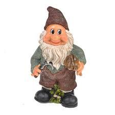 on toadstool garden ornament