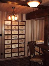 wine crate furniture. victorian style study decorated with wooden wine crates boxes and wood panels crate furniture
