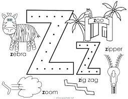 Get free printable coloring pages for kids. Zipper Coloring Page Zipper Coloring Page Letter Z Coloring Page Free Printable Al Alphabet Coloring Pages Kindergarten Coloring Pages Printable Coloring Pages