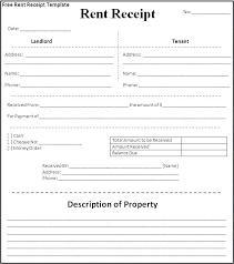 Rent Receipt Form Apartment Rent Receipt Sample Templates Ndu2mju Resume