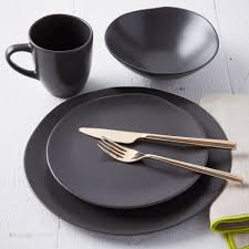 scape dinnerware  cocoa  west elm uk