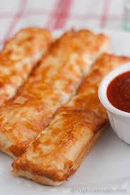 Homemade Pizza Hut Cheesy Bread Sticks