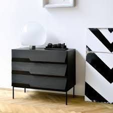 Images furniture design Pakistani Ethnicraft Stairs Black Oak Chest Of Drawers Contemporary Furniture Ethnicraft Latest Products Design News And Retailers