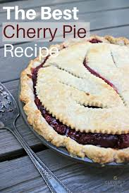 Best Pie Recipes The Best Cherry Pie Recipe Simple Recipes Diy Tutorials