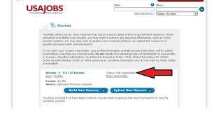 Usa Jobs Resume Builder Resume Builder Help Resume Samples