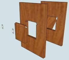 diy cat door cat door in cabinet door diy pet door in wall