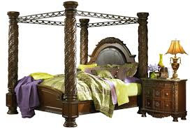 Grand Canopy Bed by Ashley Furniture