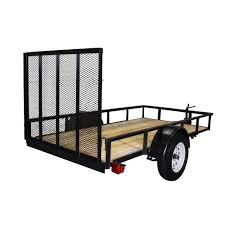 triple crown 2110 lb capacity 5 ft x 10 ft utility trailer tchd5x103k the home depot