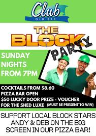 Block Party Flyer Block Party Flyer Club Old Bar Taree West Bowling Club