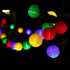 decorative solar lighting. Holigoo 30 LED Lantern Ball Solar String Lights Outdoor Lighting Lamp Fairy Globe Christmas Decorative Light For Party-in Strings From S
