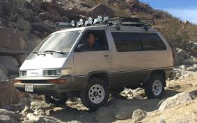 The Van That Can: A 4x4 Toyota Van Built for the Rocks | DrivingLine