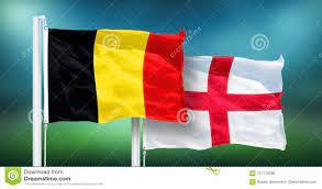 La Belgique - L'Angleterre, FINALE De Coupe Du Monde De La FIFA, Russie  2018, Drapeaux Nationaux Illustration Stock - Illustration du angleterre,  monde: 121119296