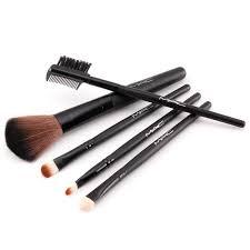 mac 5 pieces makeup brush set