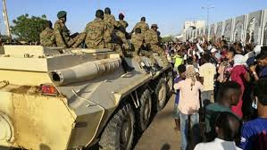 Sudanese army protects anti-government protesters after police ...