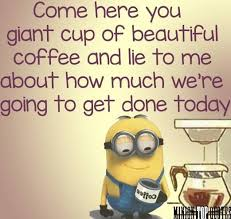 Funny Morning Quotes Custom Funny Morning Minion Quote About Coffee Pictures Photos And Images