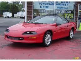 1996 Bright Red Chevrolet Camaro Z28 Coupe #30157993   GTCarLot ...