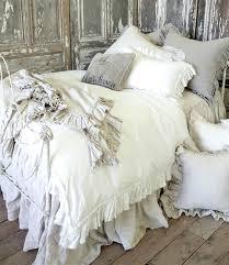 vintage ruffle duvet cover from full bloom cottage white ruffle duvet cover waterfall ruffle duvet cover