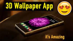 Amazing 3D wallpapers app for Android ...