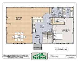 Download One Level Open House Plans  AdhomeOpen Floor Plans For One Story Homes
