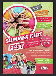 30 Summer Camp Flyer Psd Templates Free Premium Designyep