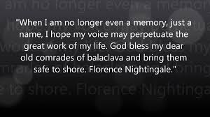 Florence Nightingale Quotes Impressive The Voice Of Florence Nightingale YouTube