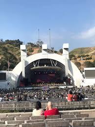 Hollywood Bowl Seating Chart Super Seats Hollywood Bowl Section H