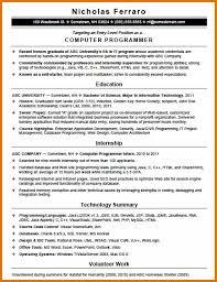 computer programmer resume samples computer programmer resume letter format business