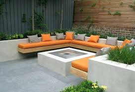 terrific wall seating bench great planter box retaining seat with diy s